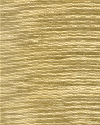 Soft Camel brown tight weave sisal grasscloth