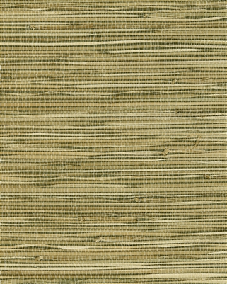 Medium Khaki celedon green blend natural grasscloth