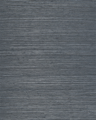 Steel Blue Natural Sisal Grasscloth