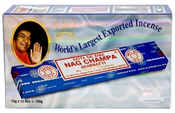 Wholesale Sai Baba Nag Champa Incense 15 Gram Packs (12/Box)