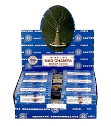 Wholesale Nag Champa Cones 12 Cones Pack (12/Box)