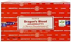 Wholesale Satya Dragons Blood Incense 15 Gram Packs (12/Box)