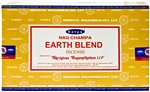 Wholesale Satya Earth Blend Incense 15 Gram Packs (12/Box)