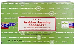Wholesale Satya Arabian Jasmine Incense 15 Gram Packs (12/Box)