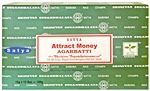 Wholesale Satya Attract Money Incense 15 Gram Packs (12/Box)