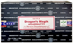 Wholesale Satya Dragons Magik Incense 15 Gram Packs (12/Box)