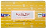 Wholesale Satya Egyptian Musk Incense 15 Gram Packs (12/Box)