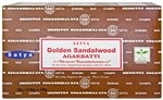 Wholesale Satya Golden Sandalwood Incense 15 Gram Packs (12/Box)