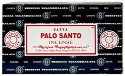 Wholesale Satya Palo Santo Incense 15 Gram Packs (12/Box)