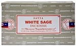 Wholesale Satya White Sage Incense 15 Gram Packs (12/Box)