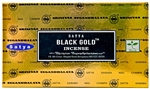 Wholesale Satya Black Gold Incense 15 Gram Packs (12/Box)
