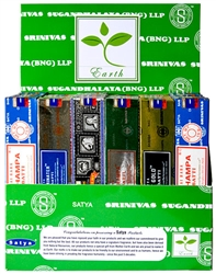 Wholesale Satya Wellness Series Incense Display 15 Gram Packs (36/Packs)