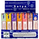 Wholesale Satya Wellness Series Incense Display 15 Gram Packs #2 (42/Packs)