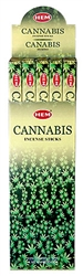 Wholesale Hem Cannabis Incense 8 Stick Packs (25/Box)