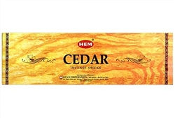 Wholesale Hem Cedar Incense 8 Stick Packs (25/Box)