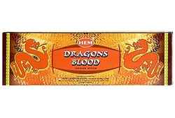Wholesale Hem Dragons Blood Incense 8 Stick Packs (25/Box)