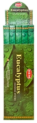 Wholesale Hem Eucalyptus Incense 8 Stick Packs (25/Box)