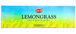 Wholesale Hem Lemongrass Incense 8 Stick Packs (25/Box)