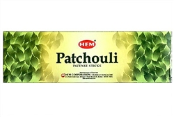 Wholesale Hem Patchouli Incense 8 Stick Packs (25/Box)