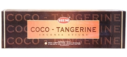 Wholesale Hem Coco-Tangerine Incense 8 Stick Packs (25/Box)