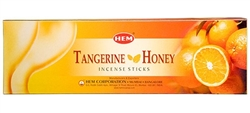 Wholesale Hem Tangerine-Honey Incense 8 Stick Packs (25/Box)