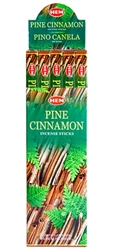 Wholesale Hem Pine-Cinnamon Incense 8 Stick Packs (25/Box)