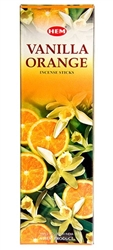 Wholesale Hem Vanilla-Orange Incense 8 Stick Packs (25/Box)