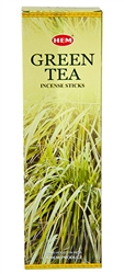 Wholesale Hem Green Tea Incense 8 Stick Packs (25/Box)