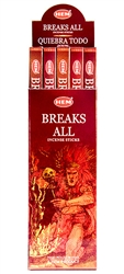 Wholesale Hem Breaks All Incense 8 Stick Packs (25/Box)
