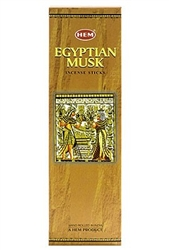 Wholesale Hem Egyptian Musk Incense 8 Stick Packs (25/Box)