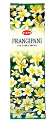 Wholesale Hem Frangipani Incense 8 Stick Packs (25/Box)