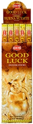 Wholesale Hem Good Luck Incense 8 Stick Packs (25/Box)