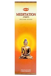 Wholesale Hem Meditation Incense 8 Stick Packs (25/Box)