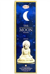 Wholesale Hem Moon Incense 8 Stick Packs (25/Box)