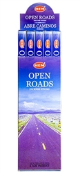 Wholesale Hem Open Roads Incense 8 Stick Packs (25/Box)