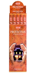 Wholesale Hem Protection Incense 8 Stick Packs (25/Box)