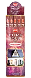 Wholesale Hem Pure House Incense 8 Stick Packs (25/Box)