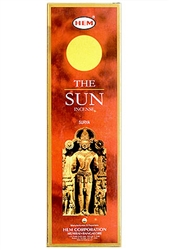Wholesale Hem Sun Incense 8 Stick Packs (25/Box)