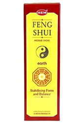 Wholesale Hem Feng Shui Earth Incense 8 Stick Packs (25/Box)
