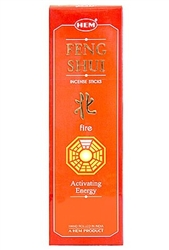 Wholesale Hem Feng Shui Fire Incense 8 Stick Packs (25/Box)