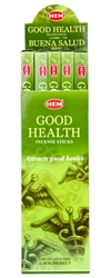 Wholesale Hem Good Health Incense 8 Stick Packs (25/Box)