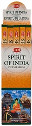 Wholesale Hem Spirit Of India Incense 8 Stick Packs (25/Box)