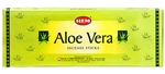 Wholesale Hem Aloe Vera Incense 20 Stick Packs (6/Box)