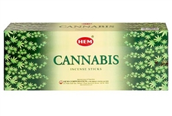 Wholesale Hem Cannabis Incense 20 Stick Packs (6/Box)