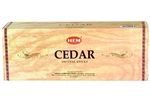 Wholesale Hem Cedar Incense 20 Stick Packs (6/Box)