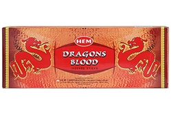 Wholesale Hem Dragons Blood Incense 20 Stick Packs (6/Box)
