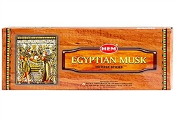 Wholesale Hem Egyptian Musk Incense 20 Stick Packs (6/Box)