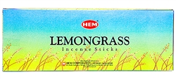 Wholesale Hem Lemongrass Incense 20 Stick Packs (6/Box)