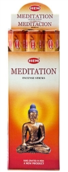 Wholesale Hem Meditation Incense 20 Stick Packs (6/Box)