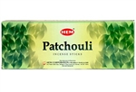 Wholesale Hem Patchouli Incense 20 Stick Packs (6/Box)